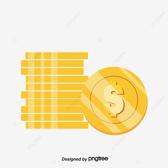 a stack of coins money coin reap profit png and vector for free rh pngtree com Money Bag Clip Art Us Money Clip Art