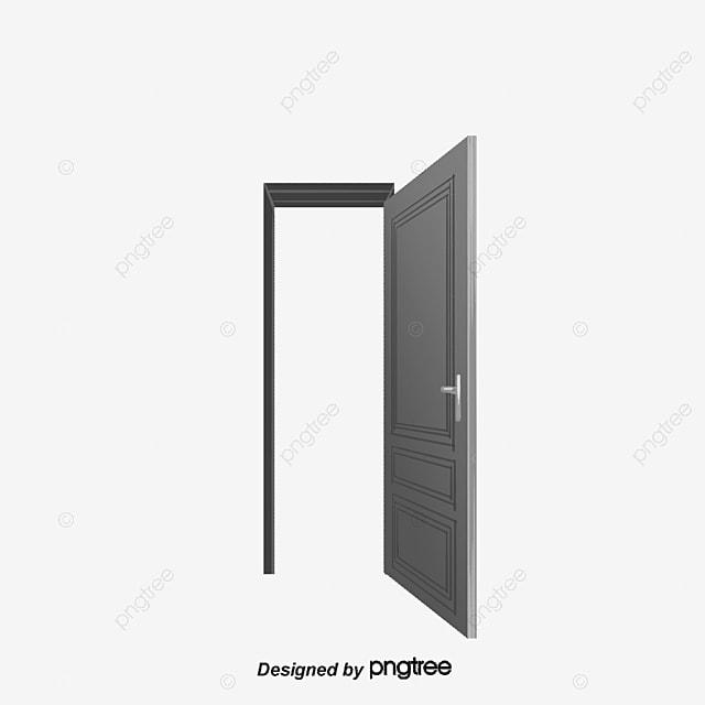open cartoon door vector diagram cartoon vector door. Black Bedroom Furniture Sets. Home Design Ideas