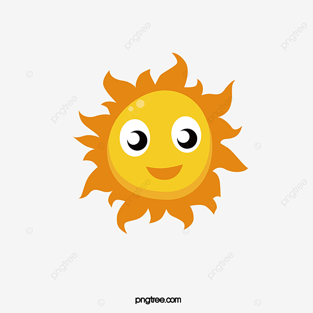 cartoon sun sunshine children sticker png and vector for free rh pngtree com free vector cartoon map free vector cartoon shark