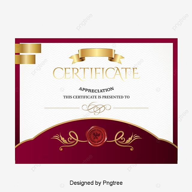 Cartoon Certificate Link Stars Skills Certificate Png And Vector