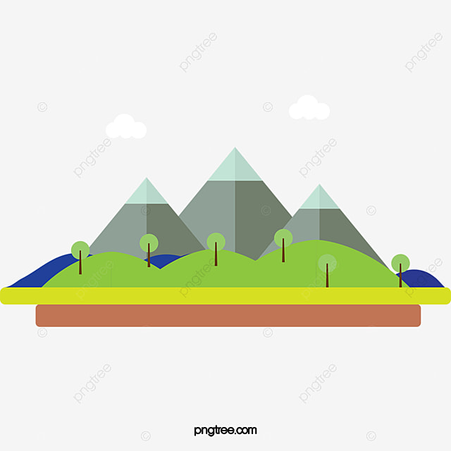 cartoon mountain png cartoon mountain scenery, mountain, cartoon mountain