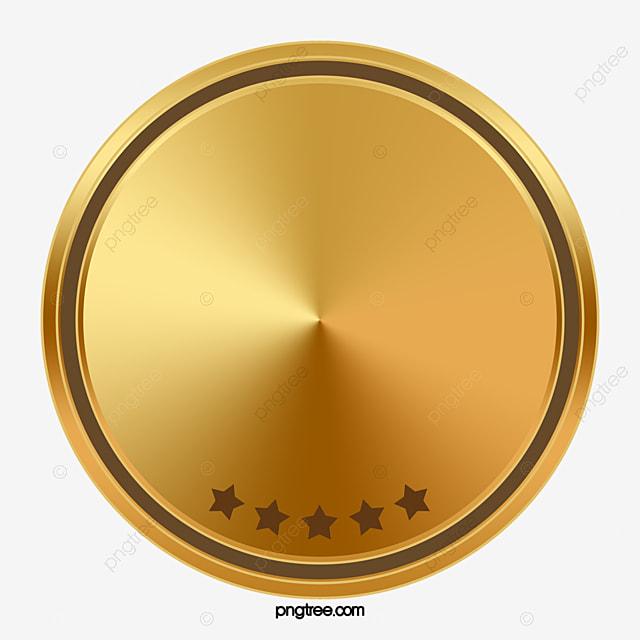 golden star logo golden logo concise medal air badge