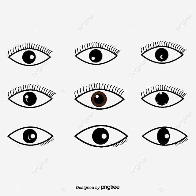 black eye vector vector diagram look hand png and vector for free rh pngtree com eye vector image eye vector free
