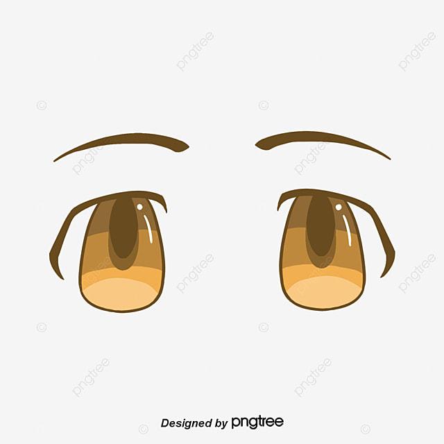 Black Big Eyes Diagrama Vectorial Ojo Simple Ojo Simple Trazo Ojo