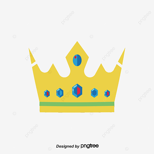 hand painted cartoon crown cartoon clipart crown clipart vector rh pngtree com cartoon crown outline cartoon crown pictures