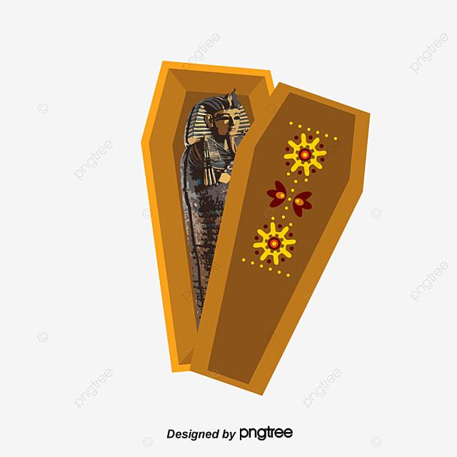 Vector Pharaoh Coffin, Pharaoh, Egypt, Mummy PNG and ...