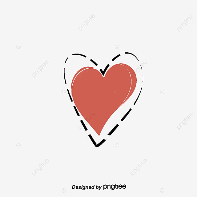 Red Love Sticker Vector Png Love Love Sticker Png And