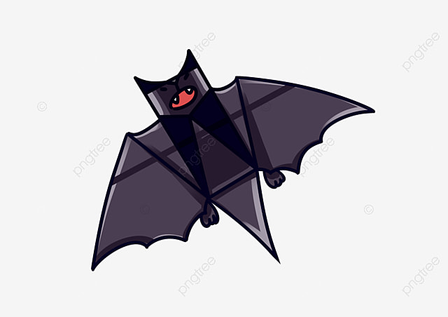black bat bat clipart stay bat lovely bat png image and