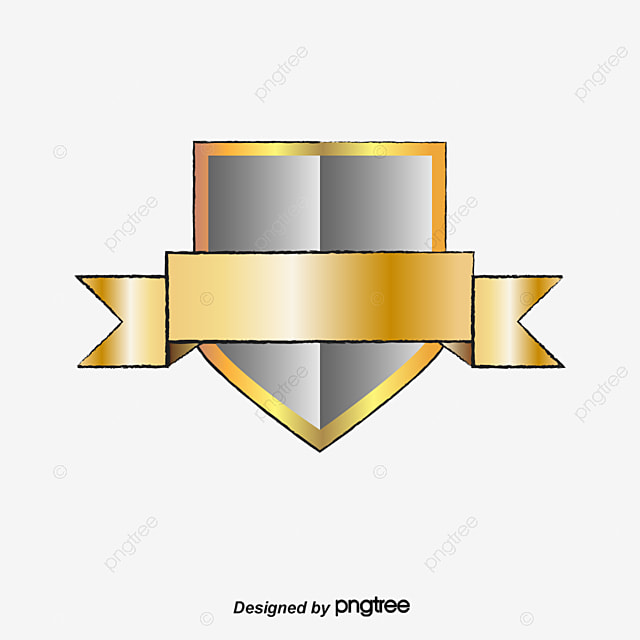 metal shield metal amarillo escudo png y vector para