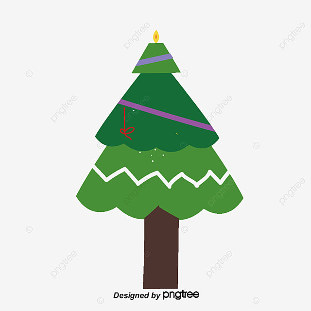 cartoon christmas tree vector png christmas christmas png and rh pngtree com christmas tree vector images christmas tree vector free download