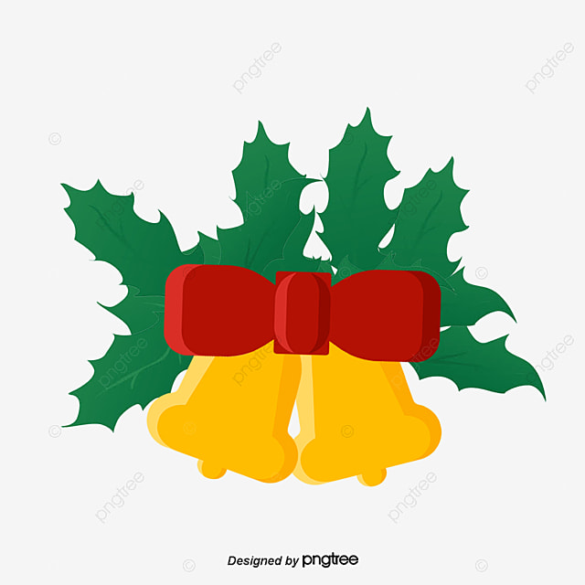 beautiful christmas decorations christmas decorations yellow bells green grass png and vector - Yellow Christmas Decorations