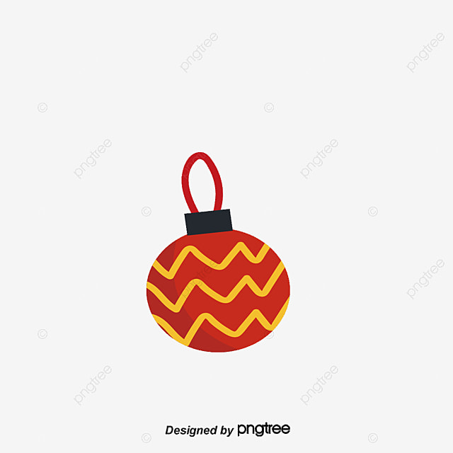 Beautiful colorful christmas ball vector png