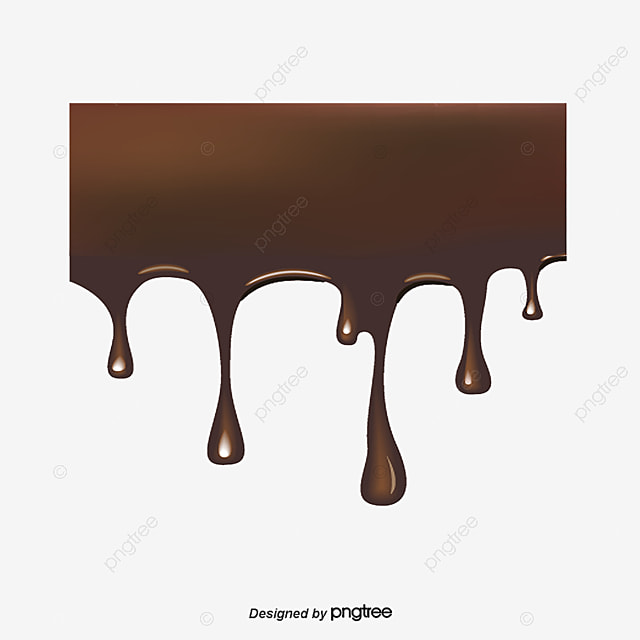 le chocolat de gouttelettes chocolat goutte png et vecteur