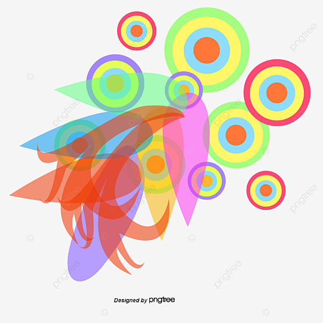 colorful abstract album flowers colorful vector png and vector