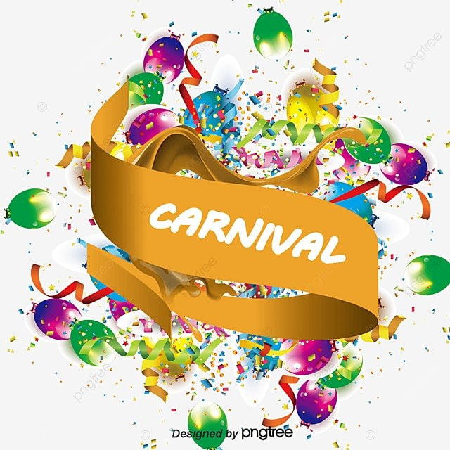 carnival poster creative vector image png and vector for