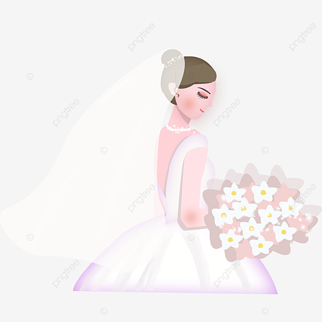 bride silhouette element  wedding  wedding  wedding dress png and vector for free download bride and groom vector icons bride and groom vector png
