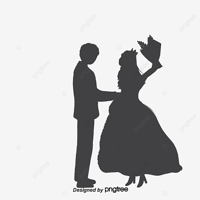 Wedding silhouette sweetheart love husband and wife png and wedding silhouette sweetheart love husband and wife free png and vector junglespirit Gallery