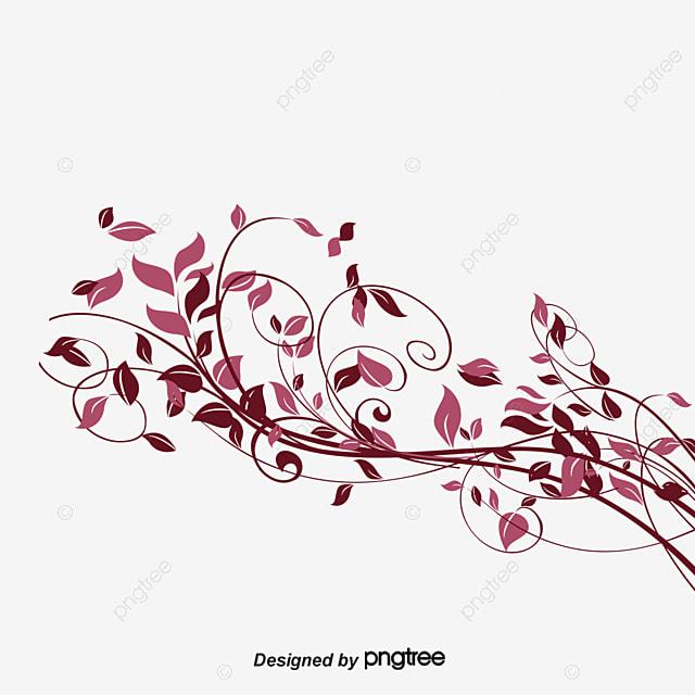spring vine pattern decora u00e7 u00e3o floral folha png e vetor
