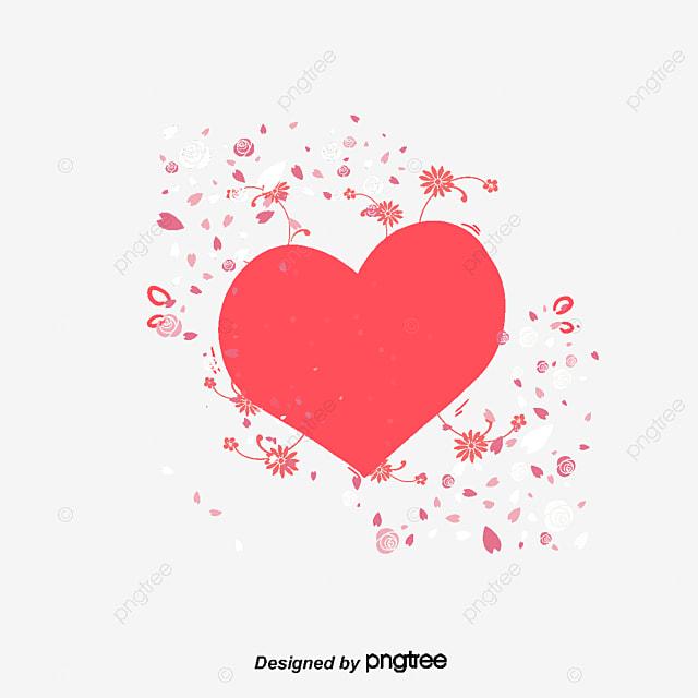 Mariage Mariage Coeur Fleur Fichier Png Et Psd Pour Le