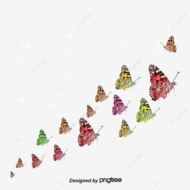 le groupe de danse de dessin dessin papillons voler png et