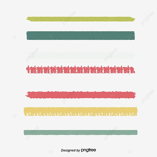 Color Línea Crayon Fondo Decorativo Color Línea Crayon PNG y Vector ...