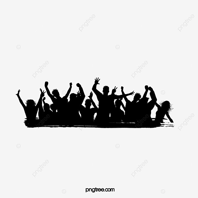 People silhouette album, Silhouette Figures, Cheer, People Vector PNG and Vector for Free Download
