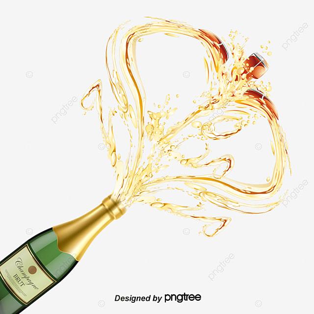 champagne vin des boissons png et vecteur pour
