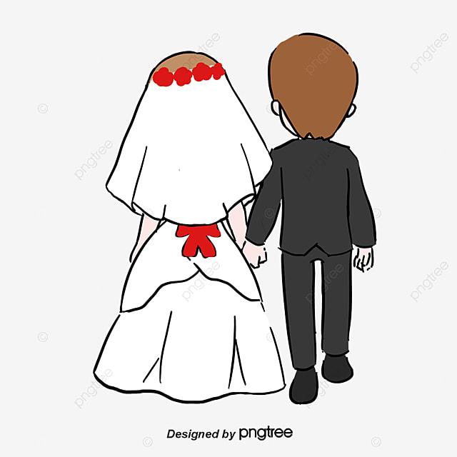 Жених и невеста рисунок карандашом прикольные