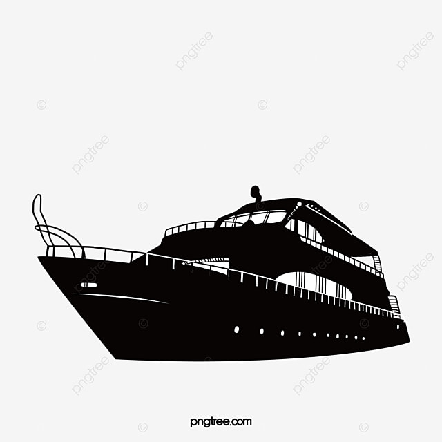 silhouette of ship modeling cruise ship ferry sketch