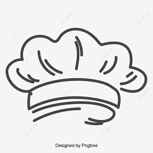 رسمت باليد طاه قبعة رسمت باليد شيف قبعة Png والمتجهات