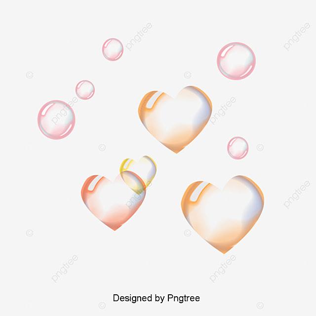 l amour de bulles bulle en forme de coeur plaquettes