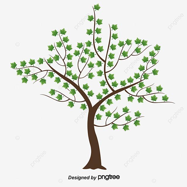 le printemps des arbres en mati u00e8re de vecteur le printemps