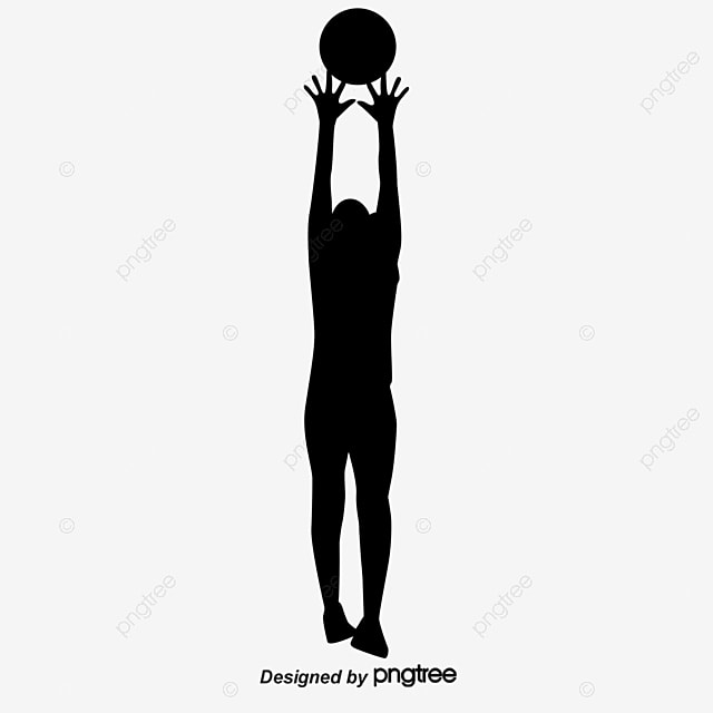 women s volleyball silhouette figures vector  volleyball Volleyball Net Background volleyball net clip art no background