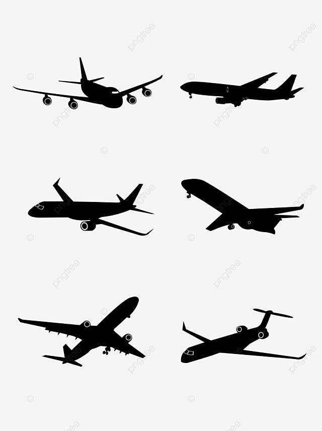 Airplane Silhouette Aircraft Silhouette Air Plane Airliner Png