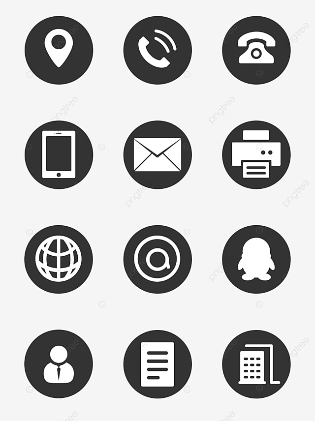 Business Card Icons Png, Vector, PSD, and Clipart With ...