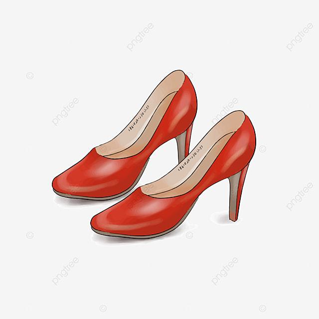 Women's Sandals Heels Illustration High Shoes Fashion jqSMLVGpUz