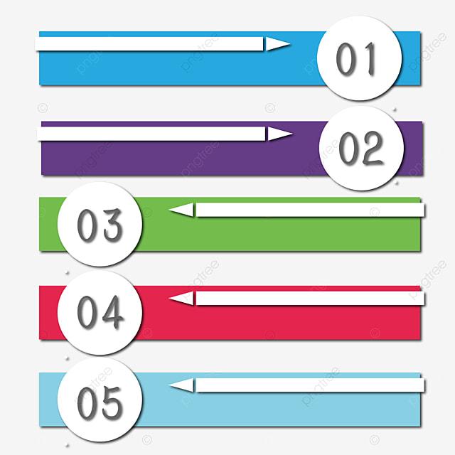Matériau De Vecteur D étiquette Numérique Modèle D étiquette