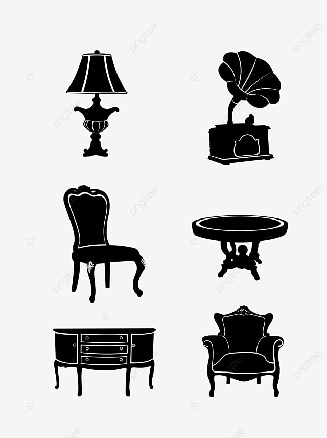 Furniture Silhouette Png, Vector, PSD, and Clipart With ...