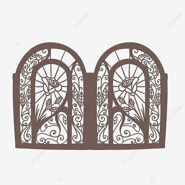 Gambar Pintu Besi Pintu Pagar Pintu Besi Pintu Pagar Garis Corak Besi Png Dan Psd Untuk Muat Turun Percuma