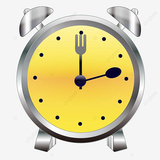 Yellow Alarm Clock Icon, Yellow Alarm Clock Icon Vector