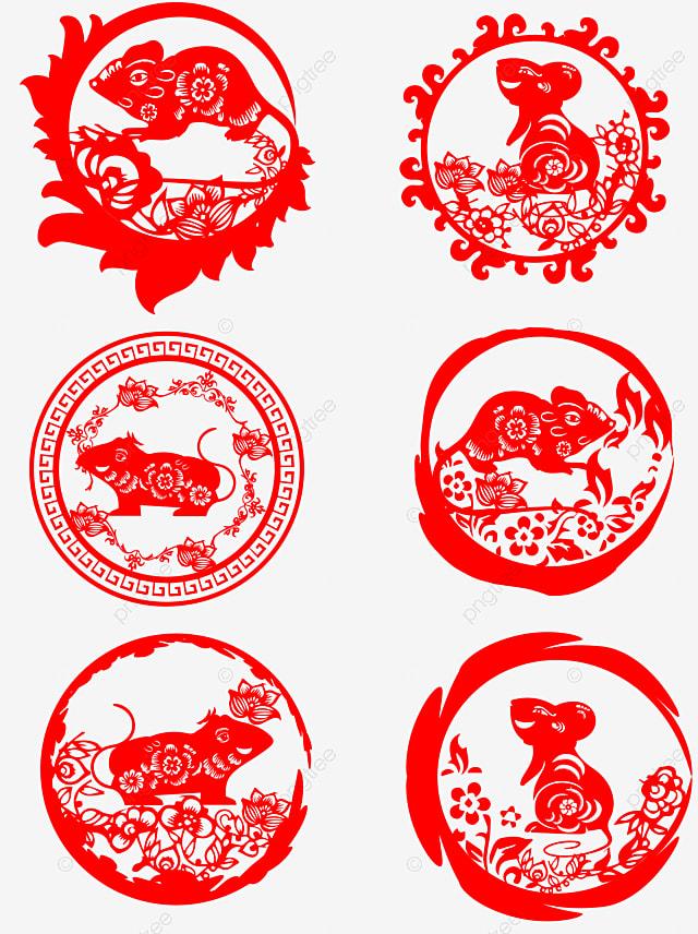 zodiac paper cut picture