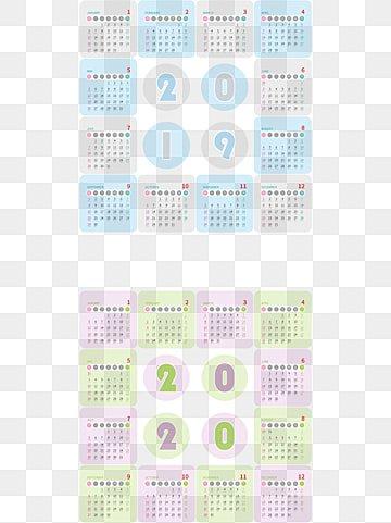 Calendario 2020 Vettoriale Gratis.2020 Calendar Png Images Vector And Psd Files Free