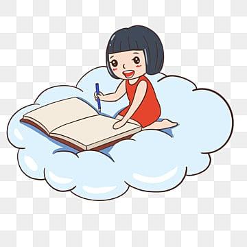 طفل يقرأ كتاب