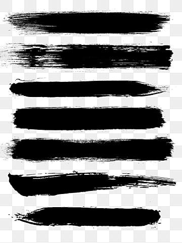 чернила кисть материал, Щетка, чернила, Чернила кисть PNG и PSD
