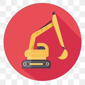 Komatsu Excavators PNG Images | Vector and PSD Files | Free