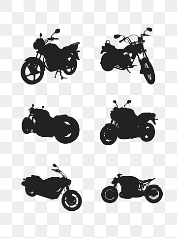 Motorcycle Silhouette Png Vector Psd And Clipart With Transparent