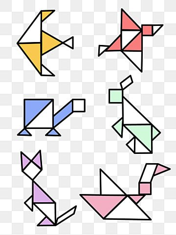 Tangram Png Vector Psd And Clipart With Transparent Background For Free Download Pngtree