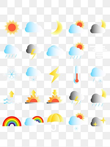 Weather Widget Icon Material, The Weather, Weather Forecast, Climate