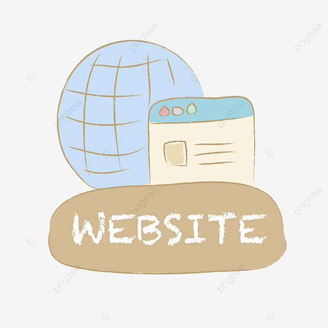 名片 簡歷 網址 網站, Website, 網址, 主頁 PNG和PSD圖片素材