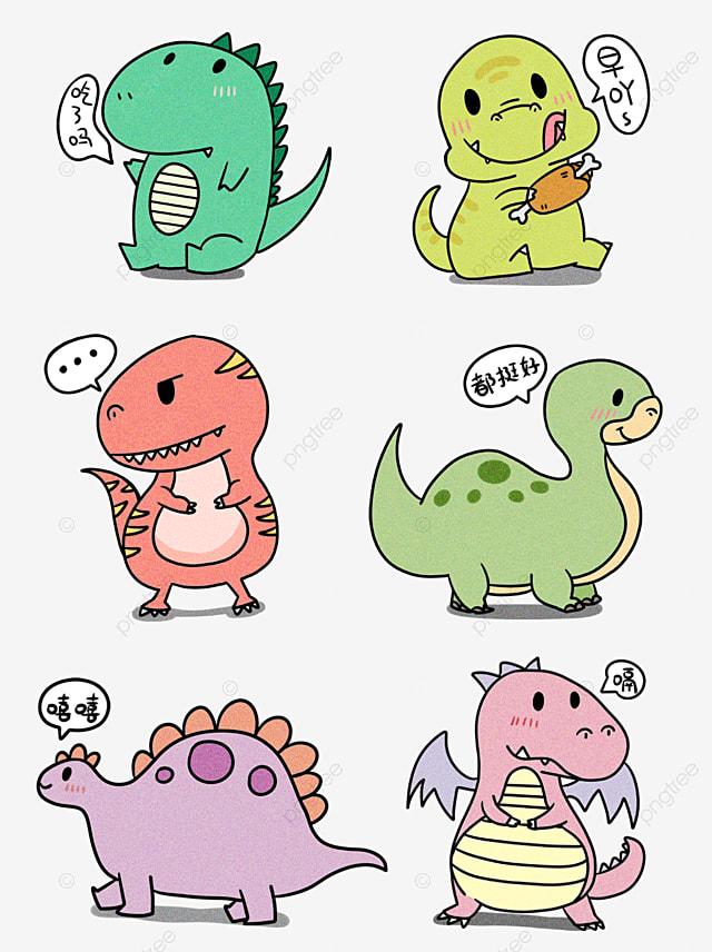 恐龍 q 版